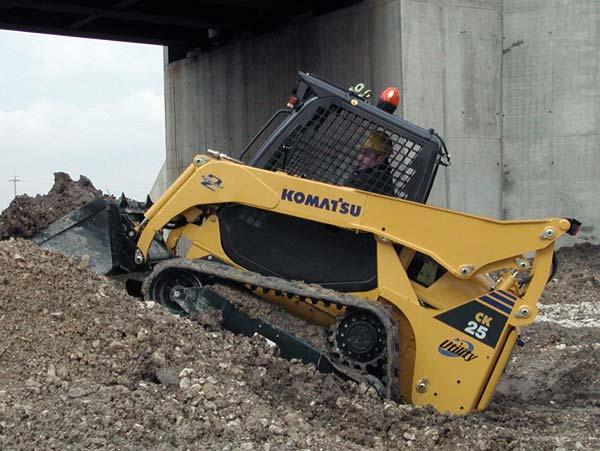 Komatsu CK25-1 Crawler Skid Steer Loader Workshop Service Repair Manual