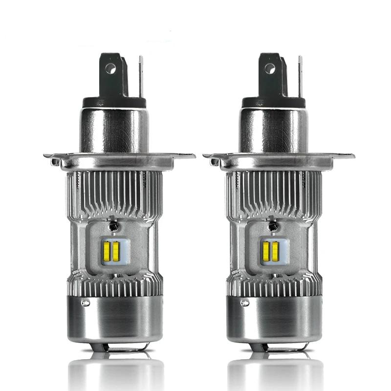 Trucks H4 Headlight Bulbs H/L Bi-Beam White 6000K 14400Lm/pair Replace for Volvo For DAF Lights Accessories 24V