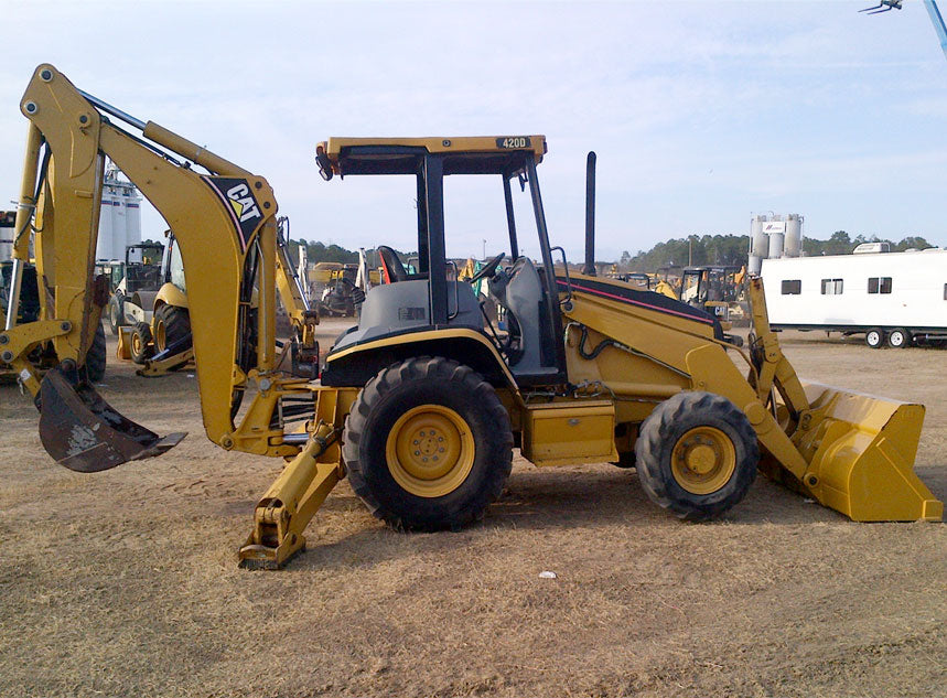 420D Backhoe Loader Workshop Service Repair Manual S/N : BMC