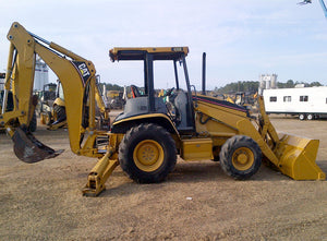 420D Backhoe Loader Official Workshop Service Repair Manual S/N : BLN BXC BGP