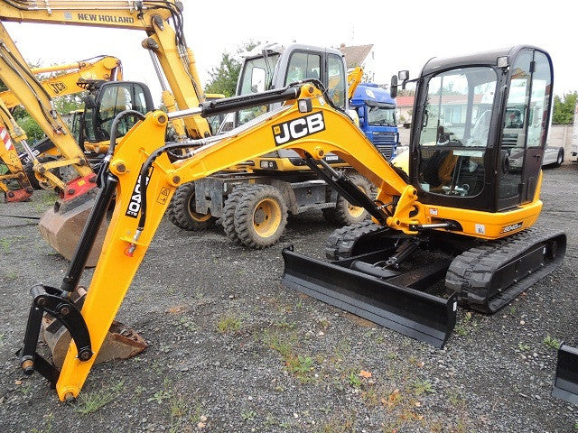 JCB 8050RTS 8040ZTS 8045ZTS 8050ZTS  Mini Crawler Excavator Workshop Manual