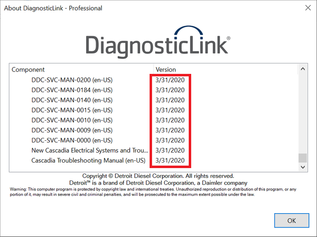 Detroit Diesel Diagnostic Link (DDDL 8.11 SP4) Professional 2020 -ALL Grayed Parameters Enabled ! ALL Level 10 !!