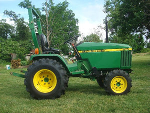John Deere 670, 770, 790, 870, 970, 1070 Compact Utility Tractors Technical Service Manual 1989 - 1998