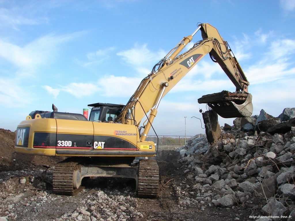 Caterpillar 330d And 336d Excavator Interactive Electrical