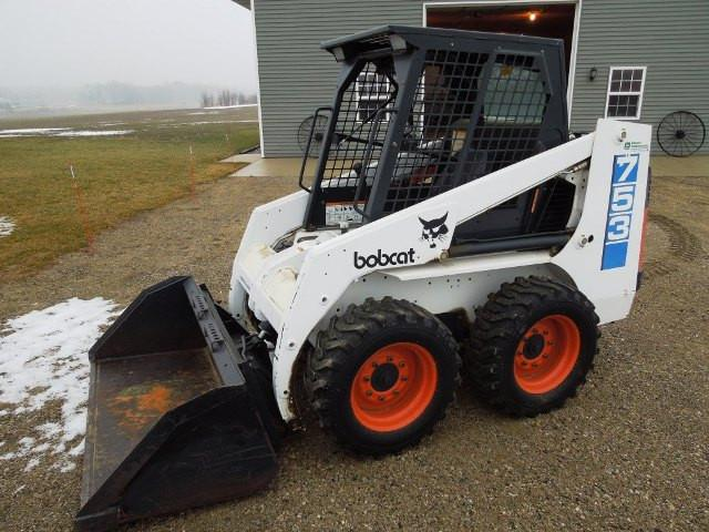 Bobcat 753H 753F 753 Serie Skid Steer Loader Workshop ServiceAnleitung