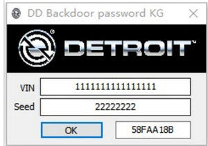 Detroit Diesel Backdoor Password Generator 2019 - Best Tool Online Save Dealer Visit ! - Full Online Installation Service !