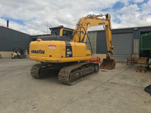 Komatsu PC160LC-8 Hydraulic Excavator Official Workshop Service Repair Technical Manual