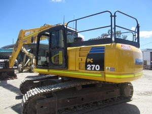 Komatsu PC270-8 PC270LC-8 Hydraulic Excavator Official Workshop Service Manual