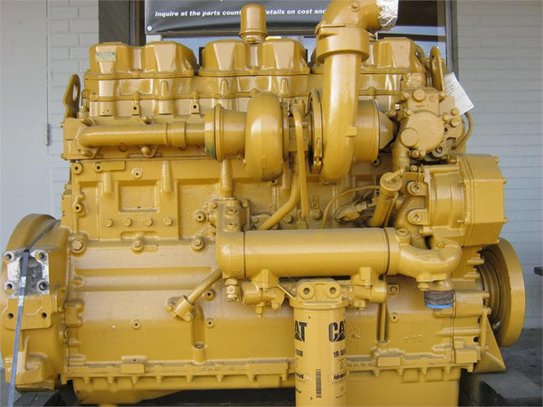Caterpillar 3406e Truck Engine Disassembly  U0026 Assembly Shop