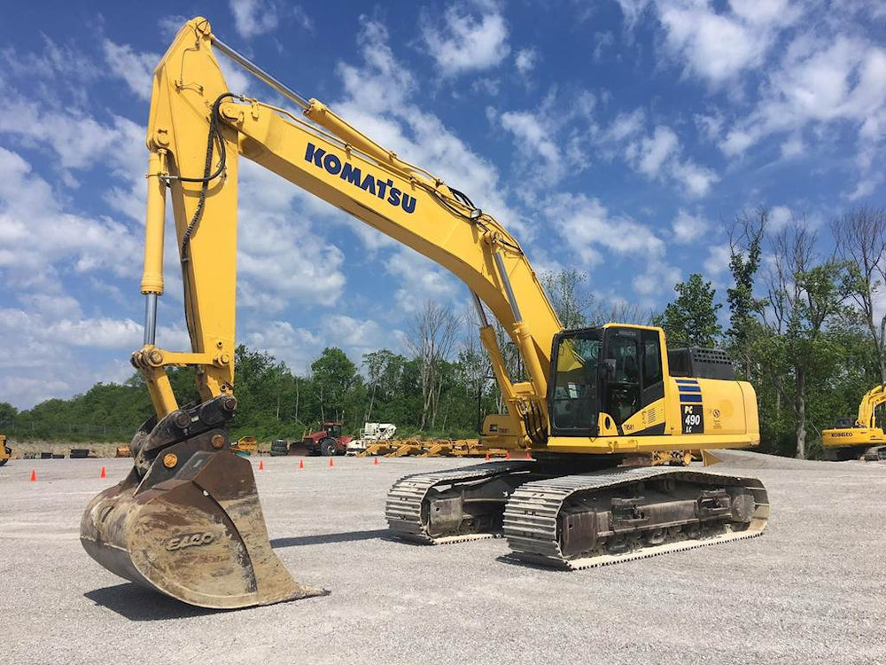 Komatsu PC490LC-10 Hydraulic Excavator Official Field Assembly Instruction Manual