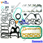 For Isuzu 4BA1 Full gasket kit 5-87810-016-0 with head gasket 9-11141-658-0 for Truck TLD34 4AB1 diesel engine repair parts