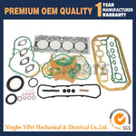 Full Rebuild Gasket Kit Set For ISUZU 4BD1T 4BD1-T Engine Hitachi EX120 EX150 excavator Isuzu OEM Parts
