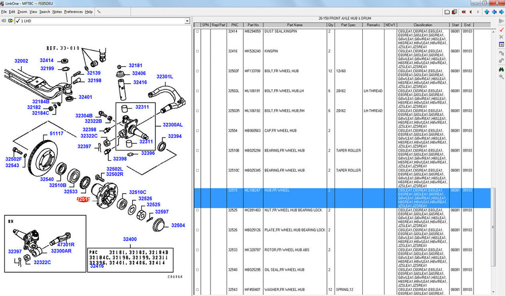 Mitsubishi Fuso Trucks Parts Manual Software ALL Regions (EPC) All Models & Serials Up to 2019 - License For Many Pc's !! !