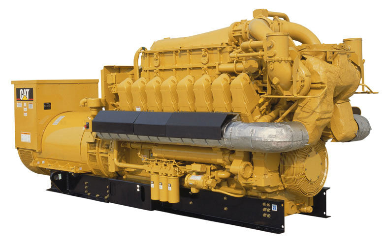 Caterpillar G3516E Generator Set Parts Manual \ Parts Catalog