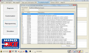 Hino Diagnostic eXplorer 2 - Hino DX2 1.1.20 & Troubleshooting Files - Latest Version 2020