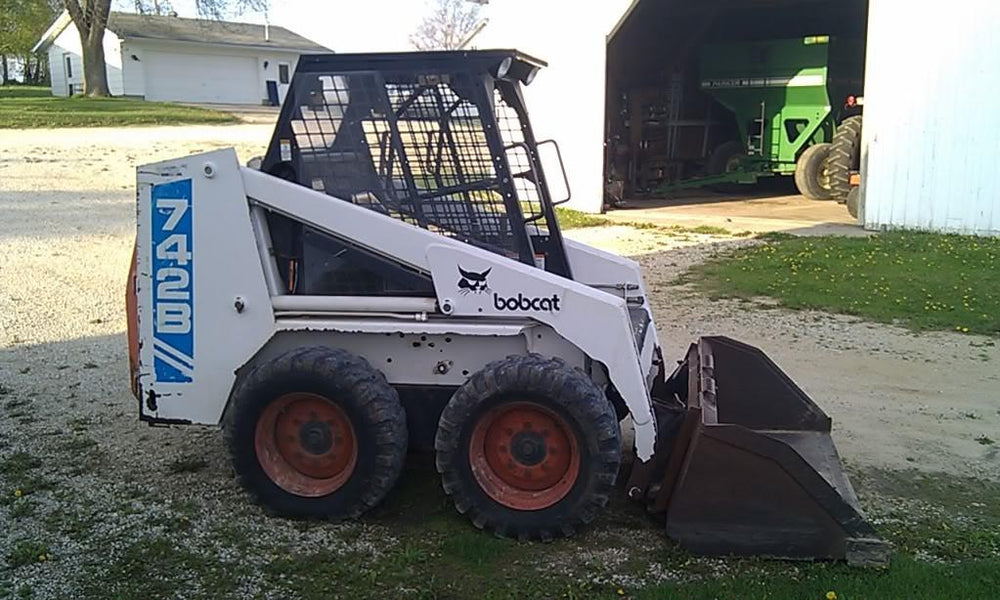 Bobcat 742B 743B Skid Steer Loader Workshop Service Manual