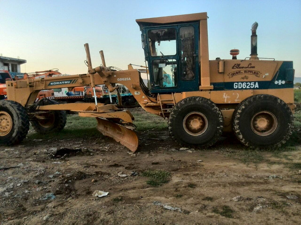 Komatsu GD620 Series GD625A-1 GD625A-1A Motor Grader Official Workshop Service Repair Manual
