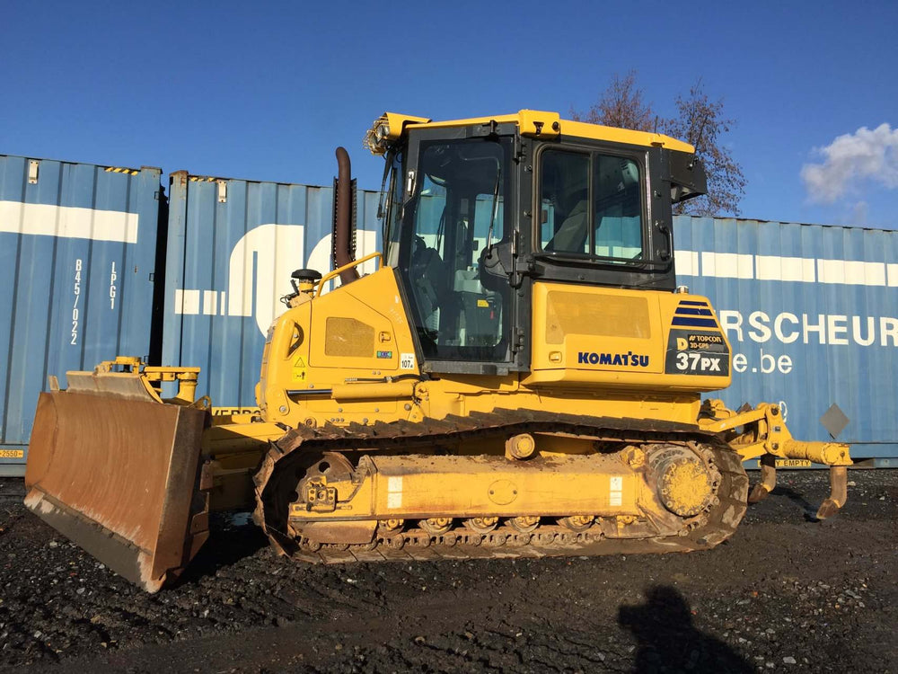 Komatsu D37EX-22 D37PX-22 Bulldozer Official Workshop Service Repair Technical Manual