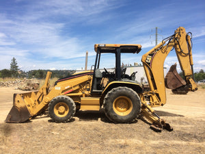 Caterpillar 420D Backhoe Loader Official Workshop Service Repair Manual S/N : HLT