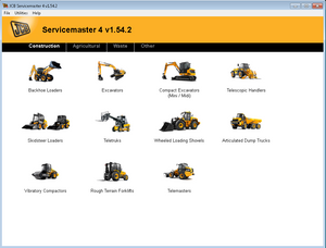 JCB ServiceMaster 4 - v1.54.2  Diagnostic Software -2017 Latest Version  ! Licensed For More Then 1 Pc !