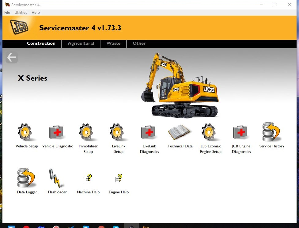 JCB ServiceMaster 4 - v1.73.3 JCB Diagnostic Software -2018 Latest Version !