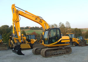 Jcb Js130 Js160 and Variants Track Excavators Workshop Service Repair Manual