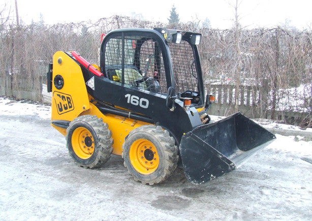 JCB Robot 160, 160HF, 170, 170HF, 180, 180HF, 180T, 180THF Skid Steer Loader Workshop Service Repair Manual #2