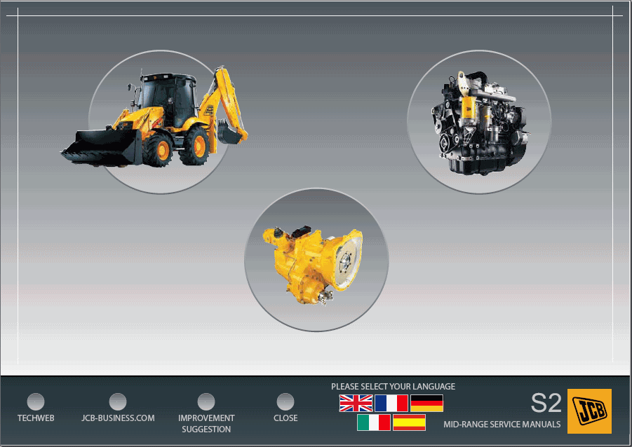 JCB Compact Service Repair Manuals 2013 -Dealer Service Information Software 2013 - Online Installation Service