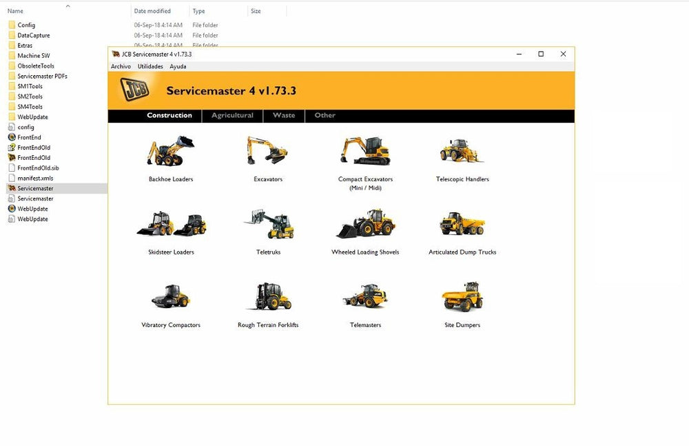 JCB ServiceMaster 4 - v20.1.3 JCB Diagnostic Software - Latest 2020 Version !