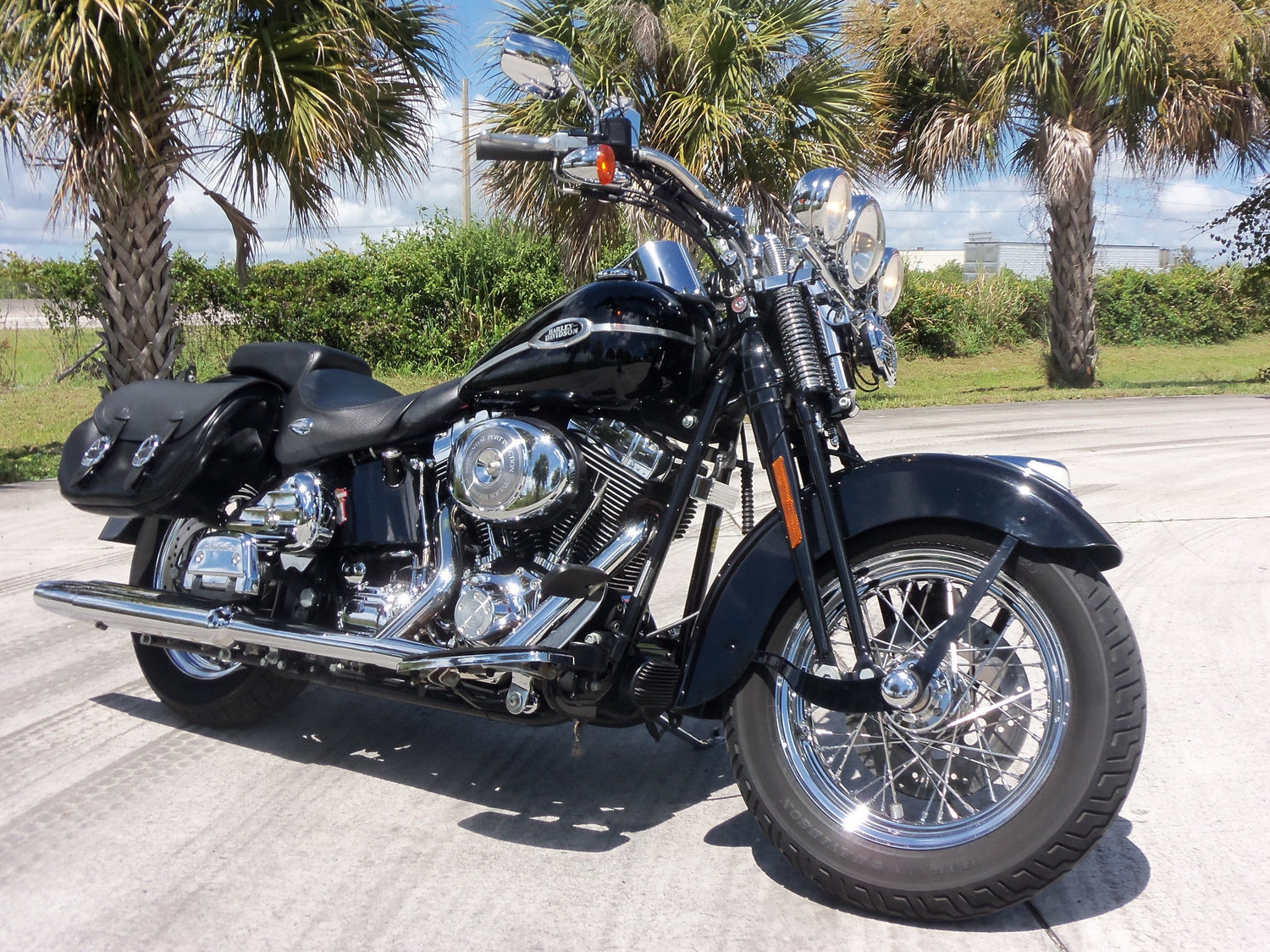 harley davidson flsts flstsi heritage springer service. Black Bedroom Furniture Sets. Home Design Ideas