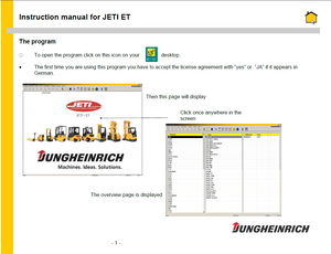 JETI ForkLift ET v4.34 EPC - Parts Catalog For ALL Jungheinrich Fork Lifts Latest 2018 - Online Installation Service !