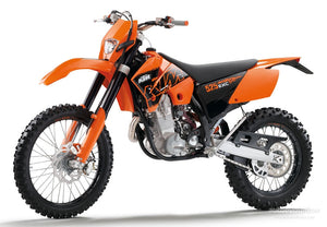 Ktm 525 SX, MXC, EXC RACING WorkShop Service Owners & Rebuild Manuals 2000-2005
