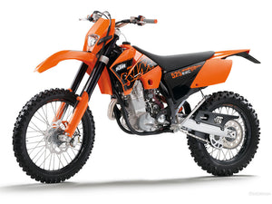 Ktm 400 EXC RACING WorkShop Service Owners & Rebuild Manuals 2000-2005