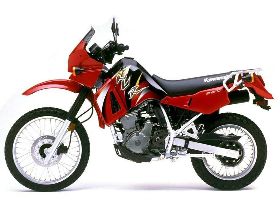 Kawasaki KLR500 KLR650 Werkplaats Service Repair Manual 1987 & Supplement 2000-2002
