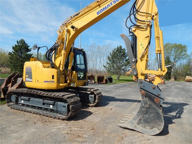 Komatsu PC138US-8 PC138USLC-8 Hydraulic Excavator Official Workshop Service Manual