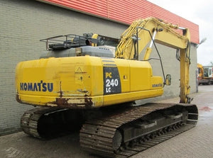 Komatsu PC240LC-10 Hydraulic Excavator Official Workshop Service Repair Technical Manual