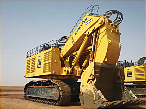 Komatsu    PC5500      6       Hydraulic    Shovel Official    Electrical    and