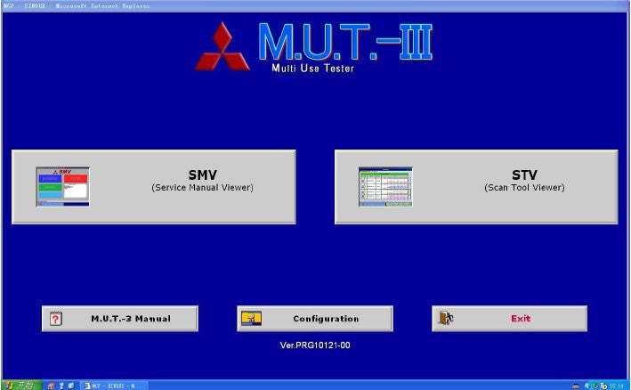 Mitsubishi Fuso MUT III 1.11 - Diagnostic System For All Fuso Truck and Bus Models Up To 2015