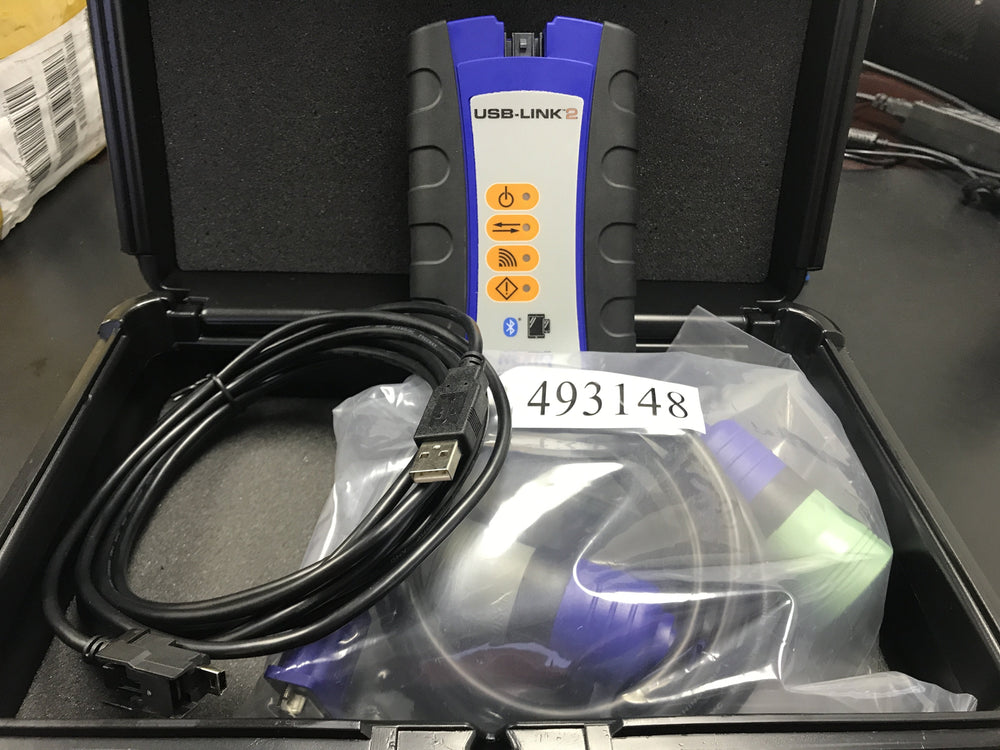 124032 nexiq USB Link 2 Genuine Heavy Duty diagnostische Kit met alle software pakket-Caterpillar-Cummins-Detroit diesel-Volvo-Allison-Hino en meer!!!