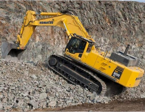 Komatsu PC800-8E0 Hydraulic Excavator Official Workshop Service Repair Technical Manual