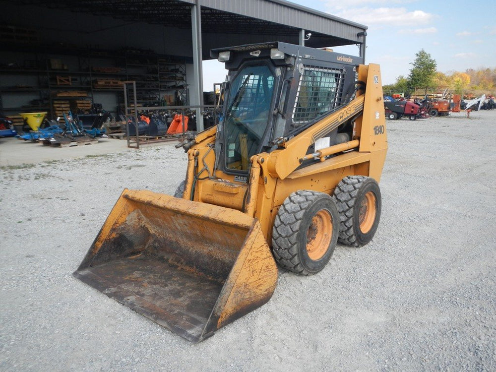 Cas 1840 Skid Steer Loader Service Repair Manual - Illustrated Parts Manual
