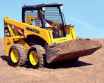 Komatsu SK818-5 SK820-5 Turbo Skid Steer Loader OEM Workshop Service Manual #1