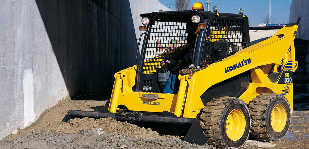 Komatsu SK820-5N Skid Steer Loader Officiel OEM Workshop Service Manuel de réparation