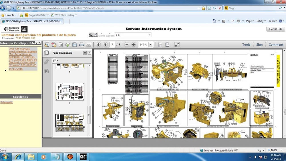 SIS 2020 New Version! Last Update 05/2020 (Diagnostics & Epc) For All Caterpilllar Models -Online Installation Service