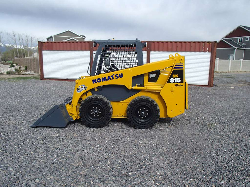 Komatsu SK815-5N SK815-5NA Skid Steer Loader OEM Official Workshop Service Repair Manual