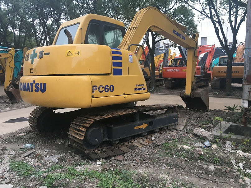 Komatsu PC60-7 PC60-7B Hydraulic Excavator Official Workshop Service Repair Technical Manual