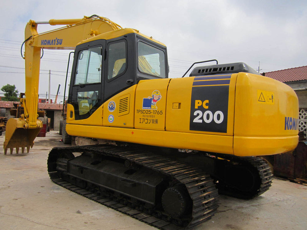 Komatsu PC200Z-6LE Hydraulic Excavator Official Workshop Service Repair Technical Manual