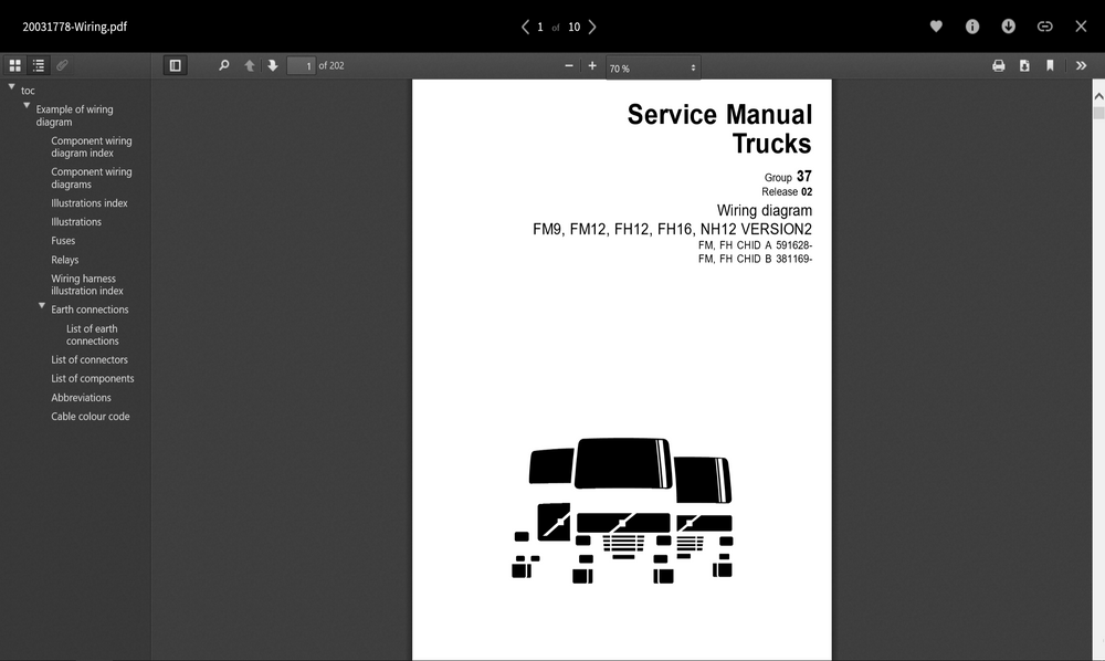 Volvo Trucks Wiring Diagrams Full PDF Collection !