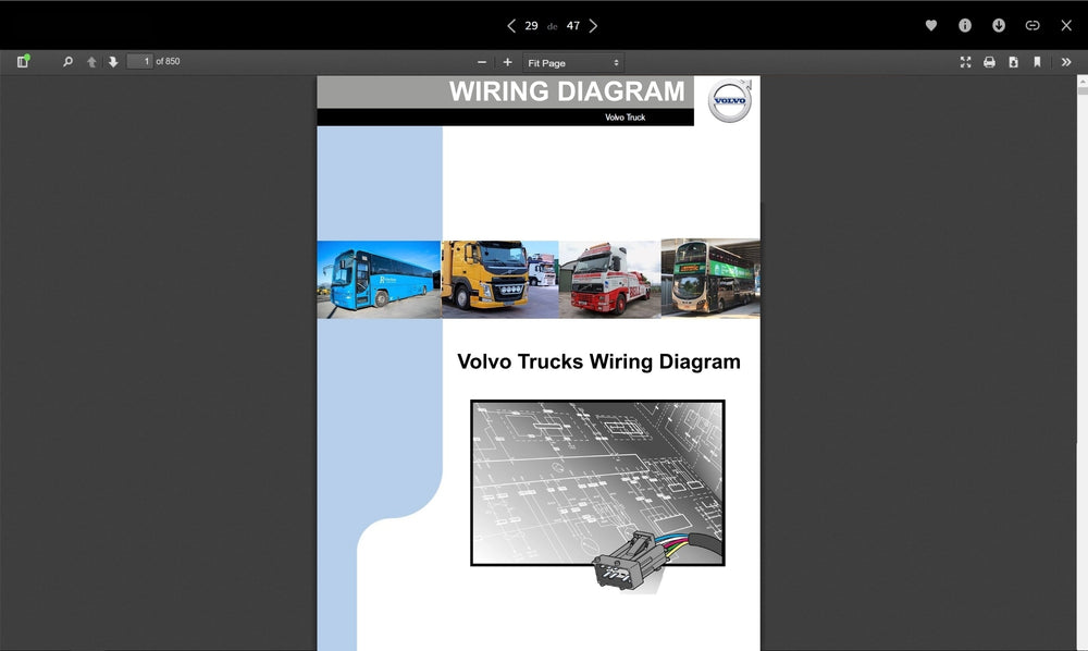 Volvo Trucks Wiring Diagrams Full Pdf Collection    U2013 The