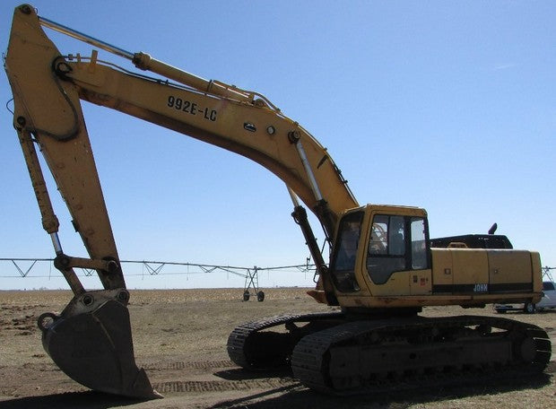 John Deere 992 ELC Excavator Official Operation and Test Service Manual TM1559